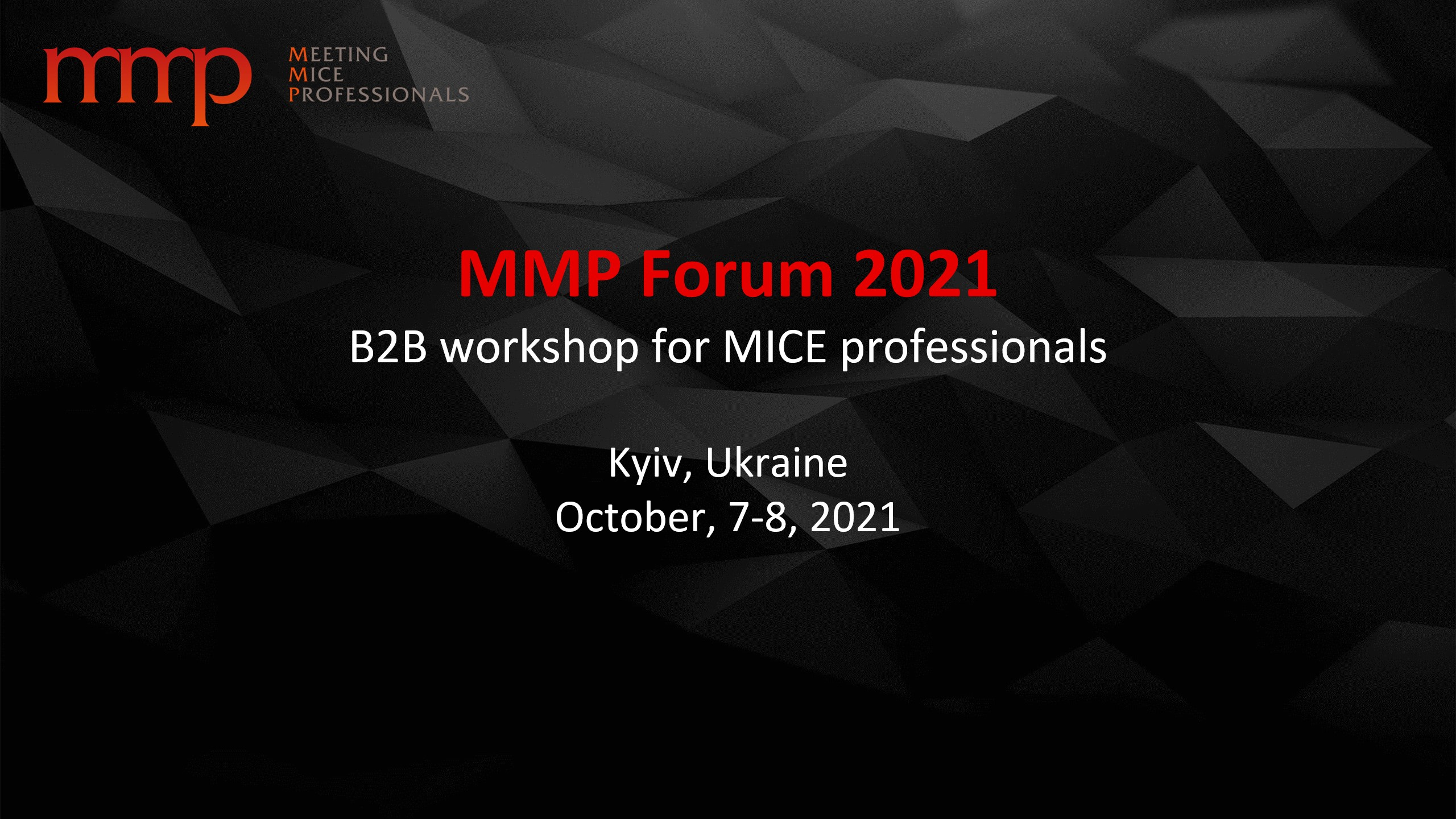 MMP Forum 2021